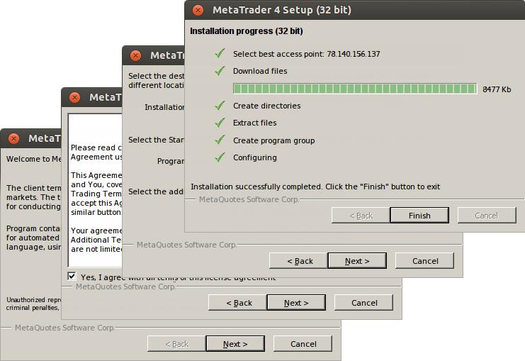 Installing MetaTrader 4
